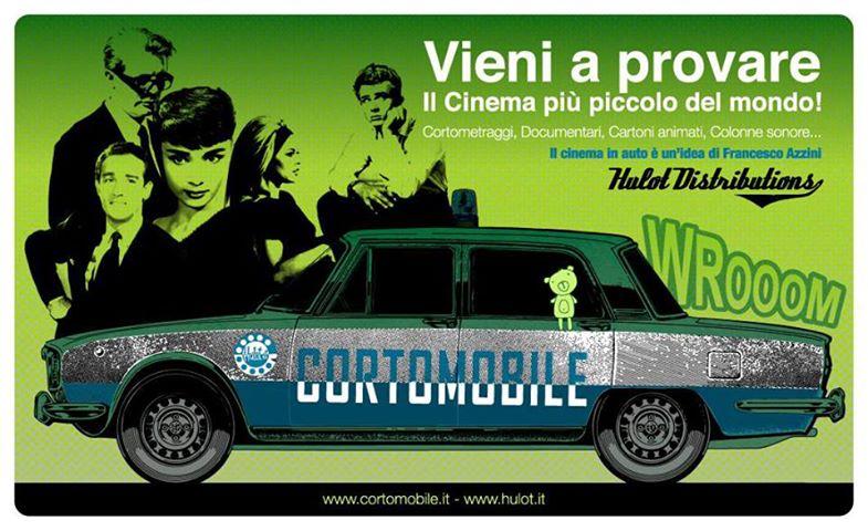 Cortomobile, il cinema più piccolo del mondo