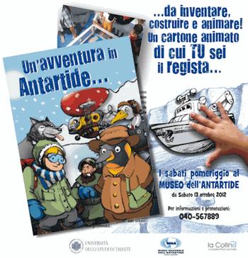 Un'avventura in Antartide
